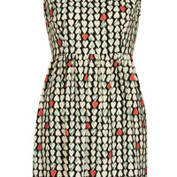 **HEART SMOCK DRESS BY LOVE