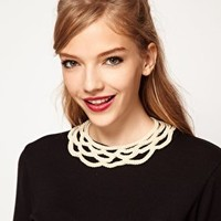ASOS Pearl Collar at asos.com