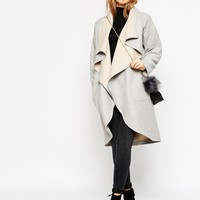 ASOS Oversized Waterfall Coat