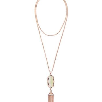 Everly Necklace in Iridescent Peach - Kendra Scott Jewelry