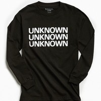 TONAL X UO Unknown Long Sleeve Tee | Urban Outfitters