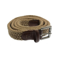 Nautica Mens Braided Buckle Casual Belt