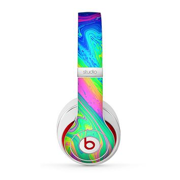 The Neon Color Fushion V3 Skin for the Beats by Dre Studio (2013+ Version) Headphones