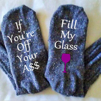 Wine Socks, Need More Wine, Personalized Socks, Bring Me Wine, Gift for Mom, Christmas Gift, Personalized Womens