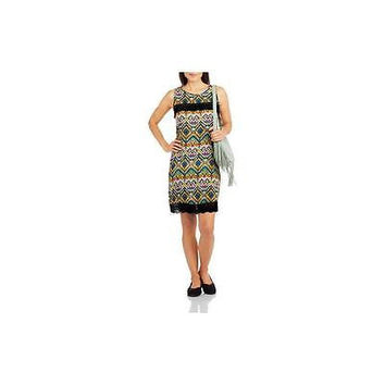 Millenium Women's Printed Babydoll Dress, Multi, Xlarge