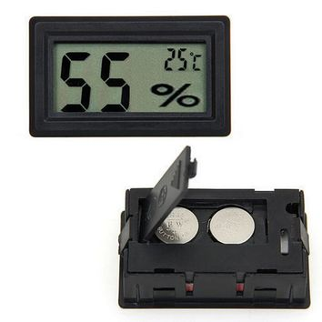 Mini Portable Digital LCD Humidity Thermometer Hygrometer Meter Electronic New Weather Station Wireless Barometer
