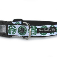 Starbucks Dog Collar for Big Dogs