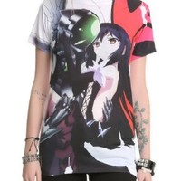 Accel World Crow Holding Girls T-Shirt Size : Medium