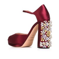 Rochas Crystal Embellished Sandals - O' - Farfetch.com