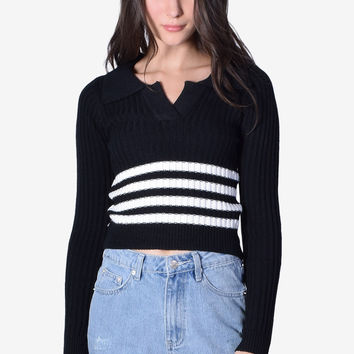 Jackson Collar Sweater