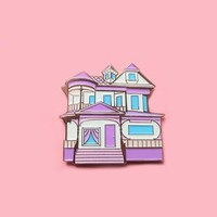 Tiny Victorian House V.2 Pins