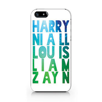 M-599 One direction Harry, Niall, Lou is, Liam, Zayn for iPhone 4/5/5C/6 case,Samsung galaxy S4/S5/Note3 case
