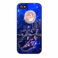 Peter Pan Quote Disney Flying Galaxy iPhone 5 Case