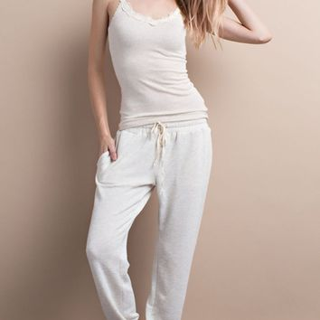 French Terry Oatmeal Lounge Pants