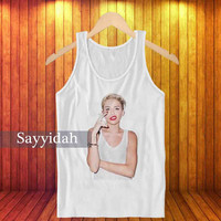 miley cyrus smoke , Tank Top Beautyful Design By : Sayyidah