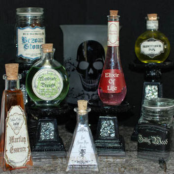 Snape's Potion Cabinet Set Number Two Potion by DiagonAlley