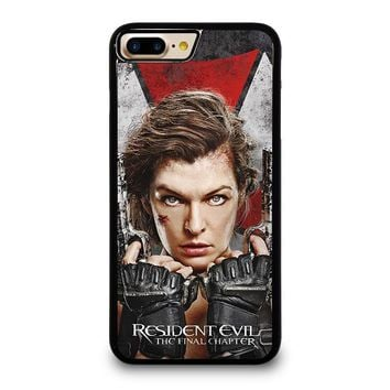 resident evil final chapter iphone 4 4s 5 5s se 5c 6 6s 7 8 plus x case  number 1