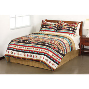 Walmart: Mainstays Kokopelli Stripe Bed in a Bag Bedding Set