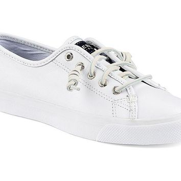 WOMENS SPERRY SEACOAST LEATHER SHOES