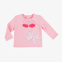 Billieblush Baby Unicorn Print Tee - U05095/468 -FINAL SALE
