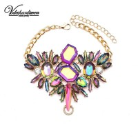 Jeweled Bohemian Anklet