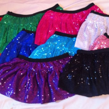 Sparkle Running skirts