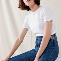 Urban Renewal Remade Dancing White Tee | Urban Outfitters