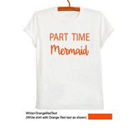 Mermaid Shirt Ariel The little Mermaid TShirt for Women Men Girl Teenager Fashion Blogger Fangirl Cute Hippie Boho Gypsy Party Hype Merch