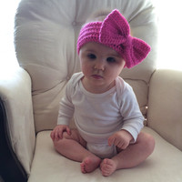 Girl's, Children's And Baby Headband with Bow