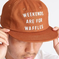 Weekends are for Waffles Strapback Hat