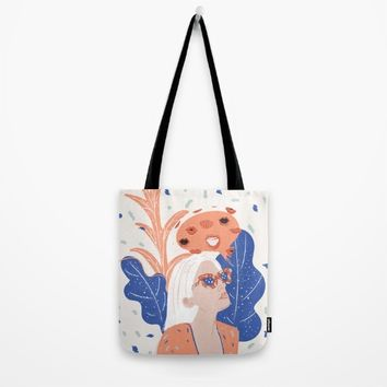 Thinkin About Kissin You Tote Bag by chotnelle