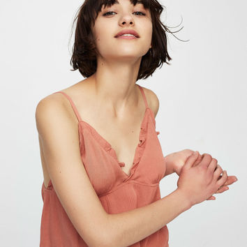 Frilled neckline top - New - Woman - PULL&BEAR United Kingdom