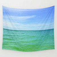 Green Waters - Wall Tapestry