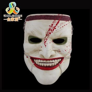 High Quality Collection COS Horrible Mask Masquerade Resin Mask Halloween Scary Skull Mask