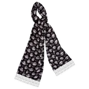 Fashion Jack Skellington Scarf | Nightmare Before Christmas | Disney Parks Authentic | Disney Store