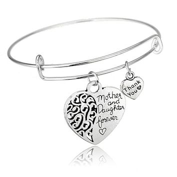 MOTHER & DAUGHTER FOREVER BRACELET