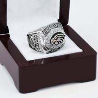 Philadelphia Eagles Football Championship Replica Ring 2004