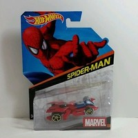 HotWheels Marvel SPIDER MAN 1:64 2014 New MOMC NIP 99 CENT AUCTION Hot Wheels