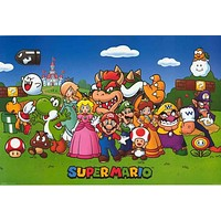 Super Mario Bros Video Game Poster 24x36