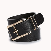 Classic Faux Leather Hip Belt