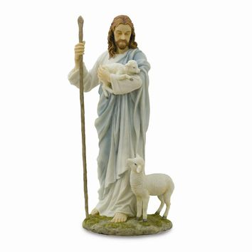 Jesus The Shepherd Sculpture