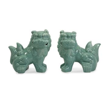 Imperial Chinese Foo Dog Set