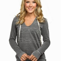 Aztec Studded Tunic Fleece