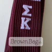 Sigma Kappa Sorority Socks