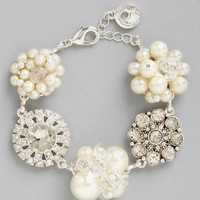 ModCloth Vintage Inspired A Sparkling Occasion New Heirloom Bracelet