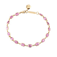 Paolo Costagli - 18K Yellow Gold Pink Sapphire Bracelet