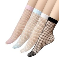 ONETOW Epeius Women's Lace Fishnet Ankle Socks