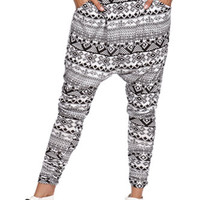 LA Hearts Tribal Print Harem Pants at PacSun.com