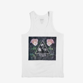 Undying Love Tank Top in White