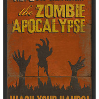 The Artwork Factory Zombie Apocalypse: Wash your Hands